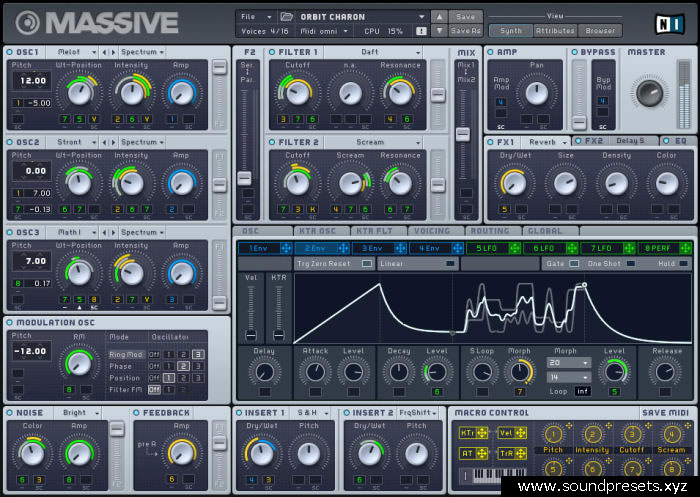 NI Massive Presets Free Download – EDM Massive Presets Collection